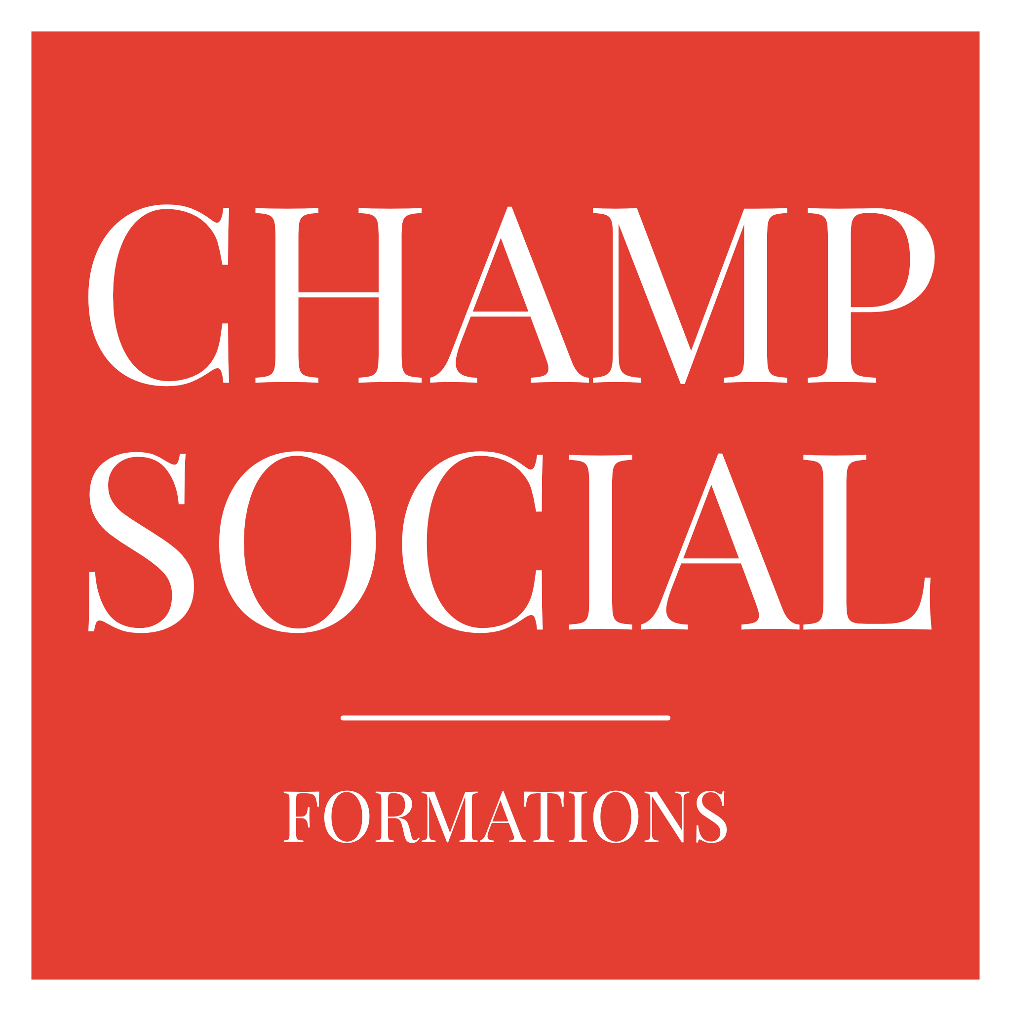 Champ Social Formations
